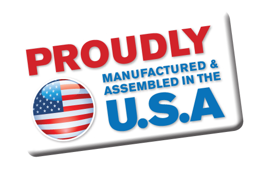 Proudly Manufactured & Assembled in the U.S.A.